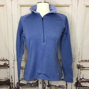 PATAGONIA microfiber pullover blue sweatshirt Med